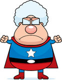 Superhero Grandma Angry Stock Photos