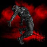 Superhero graphic Stock Photo
