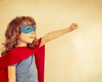 Superhero kid Royalty Free Stock Photos