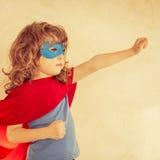 Superhero kid Royalty Free Stock Photography