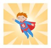 Superhero_kid II Stockbild