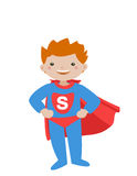 Superhero_kid III Lizenzfreie Stockfotografie