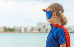 Superhero kid. Royalty Free Stock Photos