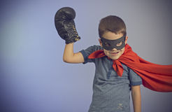 Superhero kid Royalty Free Stock Image
