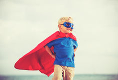 Superhero Kid Stock Images
