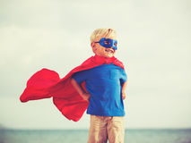 Superhero Kid Royalty Free Stock Image