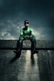 Superhero looking away Stock Photos