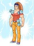 Superhero man Stock Photos
