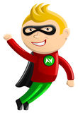 Superhero Mascot - Nitro Boy Royalty Free Stock Photography