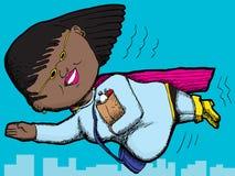 Superhero Mom Royalty Free Stock Photography