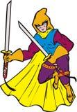 Superhero ninja warrior Royalty Free Stock Photos