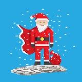 Superhero Santa Stock Image