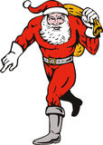 Superhero Santa Claus Royalty Free Stock Image