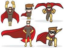 Superhero Set Stock Photo