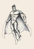 Superhero royalty free illustration