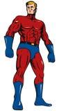 Superhero standing Royalty Free Stock Photo