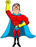 Superhero Taking Off Flying Isolated Stock Images