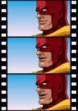 Superhero Talk Stock Image