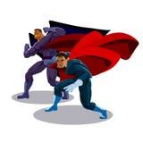 Superhero team Royalty Free Stock Photo