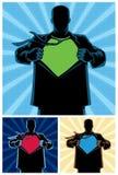 Superhero Under Cover 2 royalty free illustration
