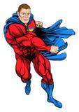 Superhero van het ponsen Stock Foto's