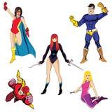 Superheroes #2 Stock Fotografie