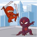Superheroes Cartoon character Royalty Free Stock Photos