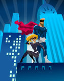 Superheroes Royalty Free Stock Photo