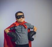 Superherojong geitje royalty-vrije stock foto