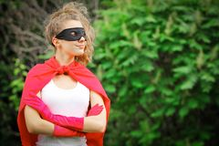 Superheros immagine stock