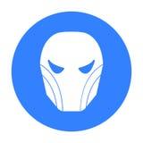 Superheros helmet icon isolated on white background.