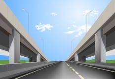 superhighway Fotografia Stock Libera da Diritti
