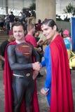 Superhombre en Baltimore Comicon Foto de archivo