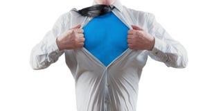 Superhéroe Imágenes de archivo libres de regalías