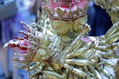 Superhuman powers buddha Royalty Free Stock Image