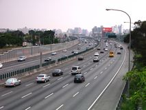 superhuvudväg arkivfoton
