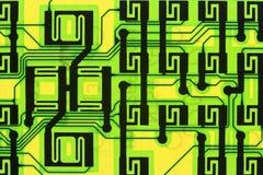 superinformation om strömkretshuvudväg Arkivbild