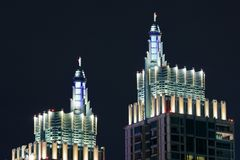Superior business tower Royalty Free Stock Image
