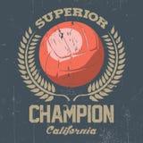 Superior California Champion Poster Stock Photo