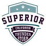 Superior california Stock Photography