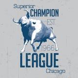 Superior Chicago Champion Poster Stock Image