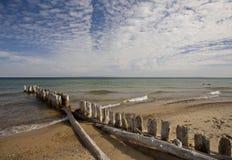 Superior de lago Michigan norteño Fotos de archivo libres de regalías