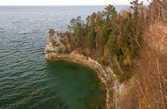 Superior de lago Michigan norteño Imagen de archivo libre de regalías