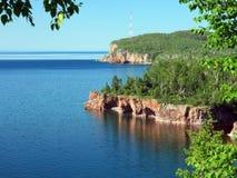 superior de lago, parque de estado de Tettegouche imagens de stock royalty free