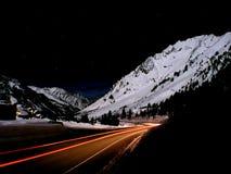 superior iluminado por la luna Foto de archivo
