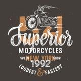 Superior motorcycle 001 Royalty Free Stock Photo