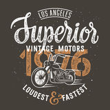 Superior motorcycle 002 Stock Image