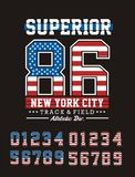Athletic Superior New York City Stock Photos