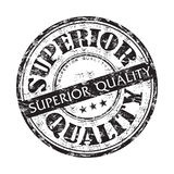 Superior quality grunge rubber stamp Royalty Free Stock Photo