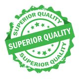 Superior quality stamp.Sign. Seal. Royalty Free Stock Photo